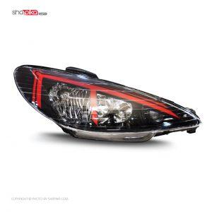 چراغ جلو مدل S100-101 مناسب برای پژو 206