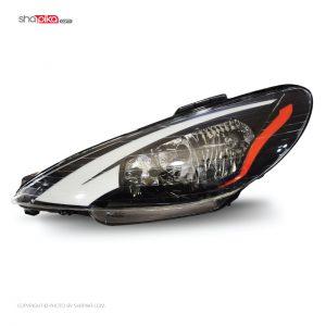 چراغ جلو مدل S100-115 مناسب برای پژو 206