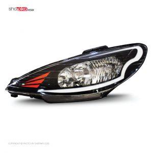 چراغ جلو مدل S100-116 مناسب برای پژو 206