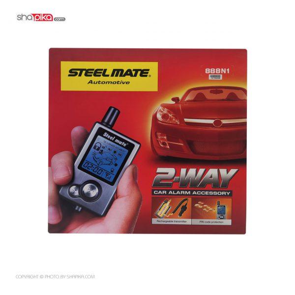 دزدگیر تصویری خودرو مدل استیل میت 888N1