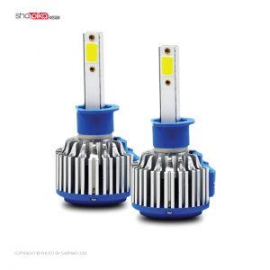 لامپ هدلایت خودرو 390Light مدل H1 رنگ سفید بسته 2 عددی