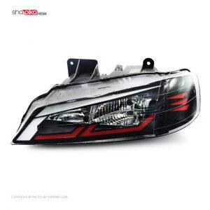 چراغ جلو مدل S100-111 مناسب برای پژو پارس