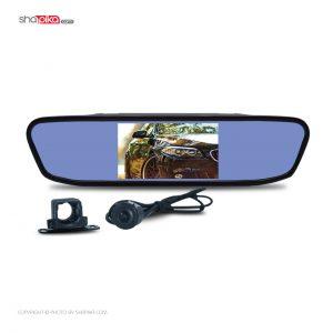 آینه مانیتور دار و دوربین دنده عقب خودرو برند Sura