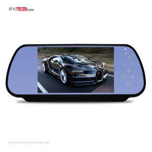 آینه مانیتور دار و دوربین دنده عقب خودرو برند Maxis 7