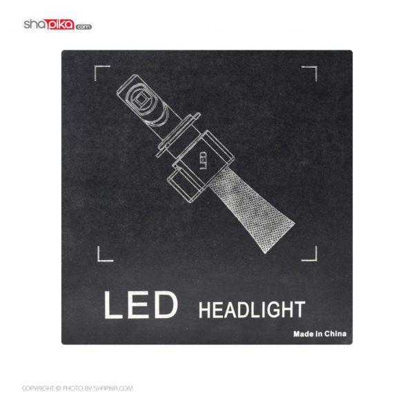 لامپ هدلایت خودرو 7S مدل 9006 رنگ سفید بسته 2 عددی